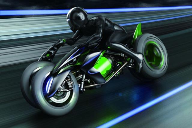 #FTW #Cyberpunk Concept Bike from Kawasaki. Kanedaaaaa Tetsuooooooooooooo